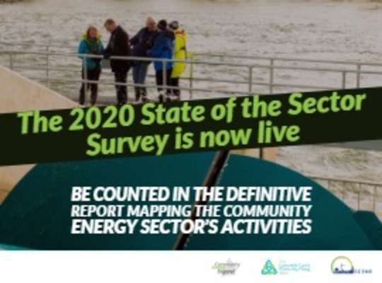 State of the Sector Survey 2020 now live. Please respond.