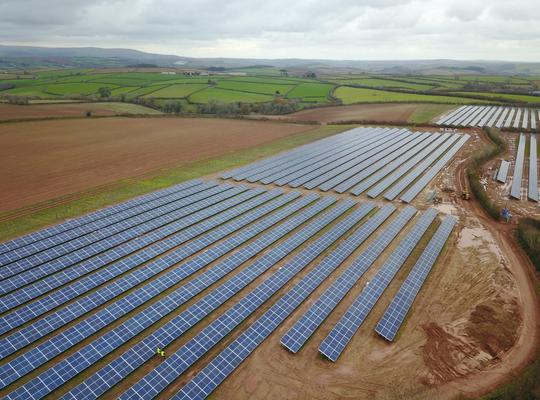 UK's first post-subsidy community solar farm completed