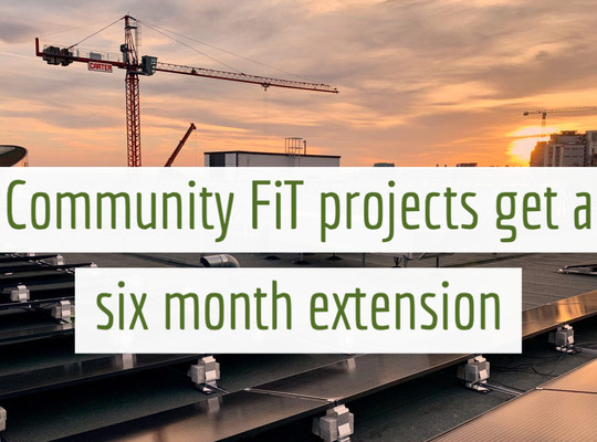 Six month extension of the FIT completion deadline