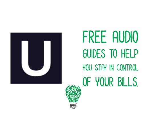 Free Audio Guides to help you stay in control of your bills.