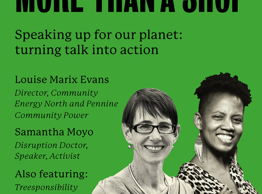 Speaking up for our planet: turning talk into action