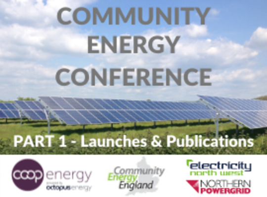 Community Energy Fortnight launches and funds