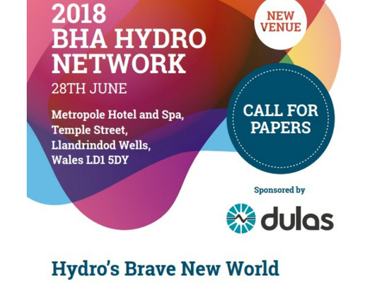 BHA are welcoming contributions from those involved in community hydro to get involved, speak and exhibit