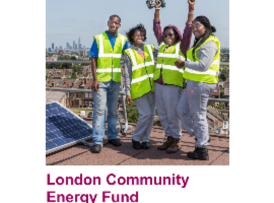 London Community Energy Fund Round 2