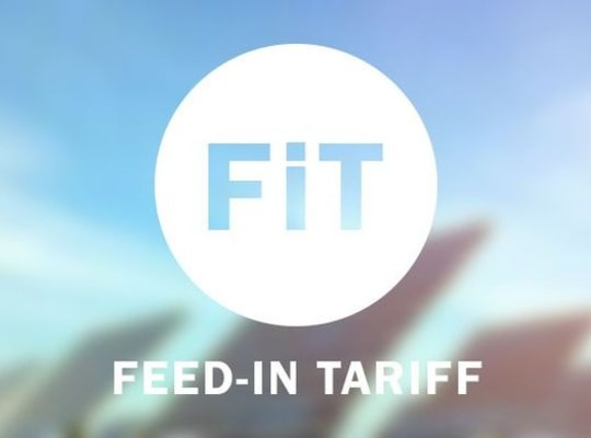 Closure of the Feed in Tariff