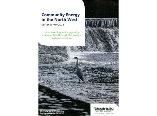 Community Energy in the North West - Sector Survey 2018