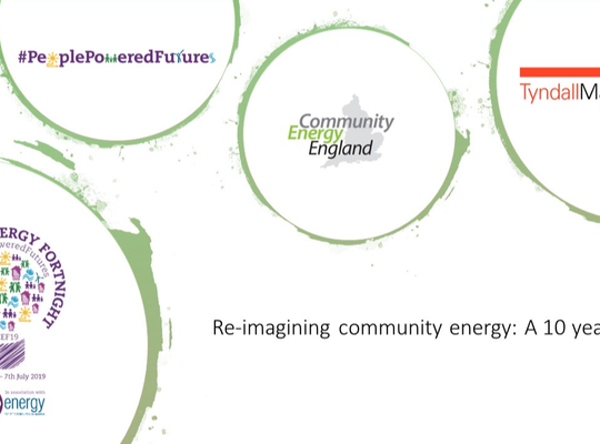 Re-imagining community energy: A ten-year vision