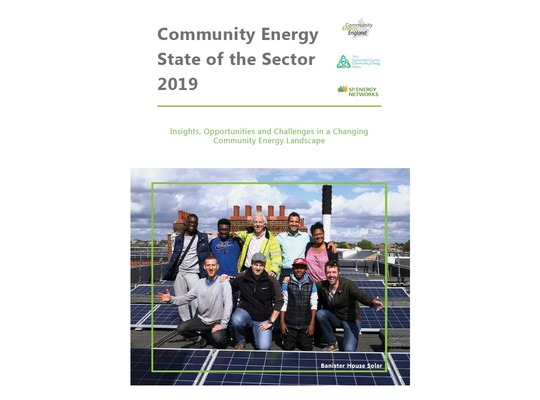 Community Energy – State of the Sector Report 2019