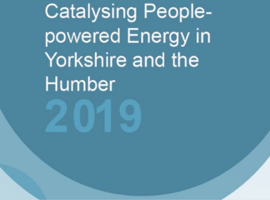Catalysing People-powered Energy in Yorkshire and the Humber Report 2019